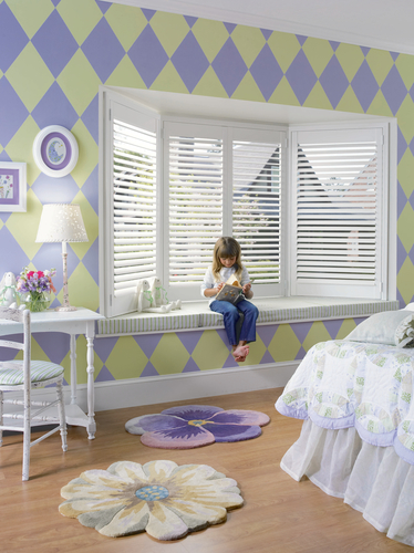 Plantation Shutters in Style