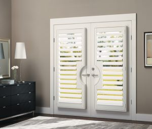 Plantation Shutters Double French Doors